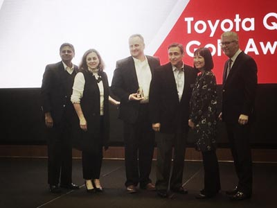 Toyota award winners