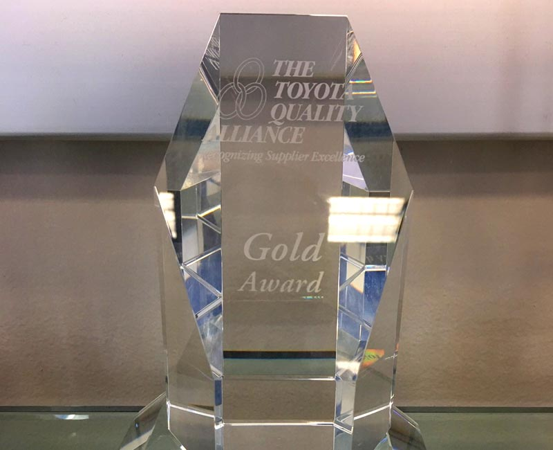 The Toyota Quality Alliance Trophy