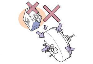 Brake Booster Installation Procedure